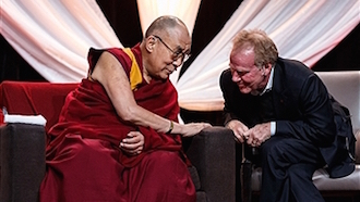 The Dalai Lama and Peter Senge